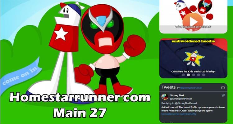 Homestarrunner com Main 27 Red-redial 2021