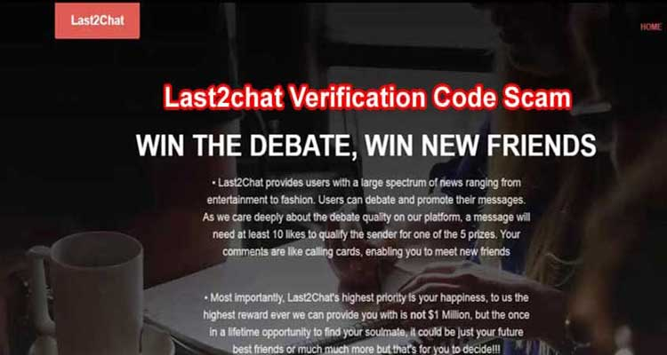 Last2chat Verification Code Scam {Jan} Know About Code! 2021.