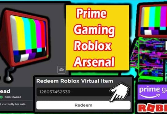 Prime Gaming Roblox Arsenal 2021.