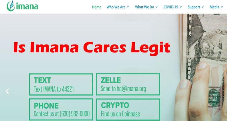 Is Imana Cares Legit 2021